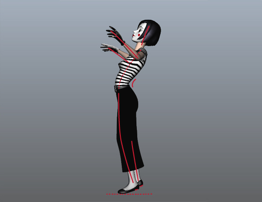 Animation: Carbon Copy Pose